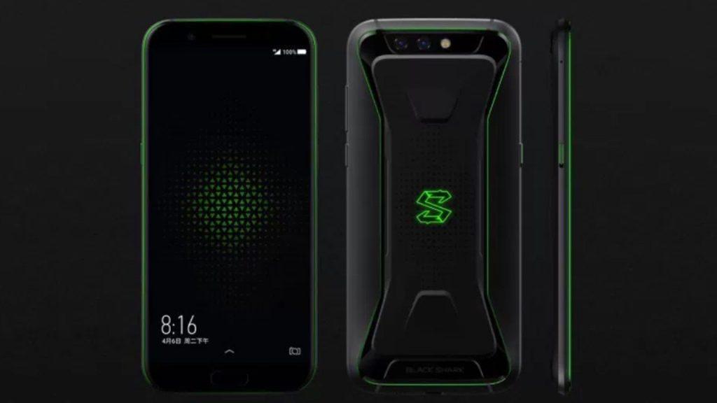 PUBG Mobile Oynamak İçin En İyi Telefonlar -Xiaomi Black Shark