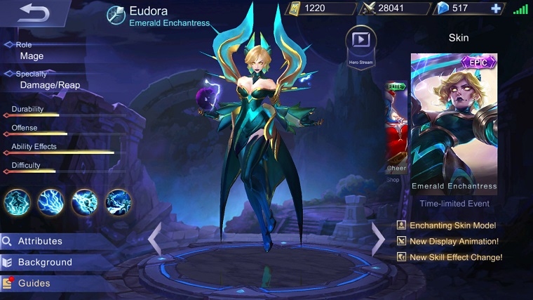 Mobile Legends- Eudora Rehber