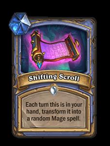 Shifting Scroll