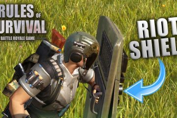 Rules of Survival Riot Shield