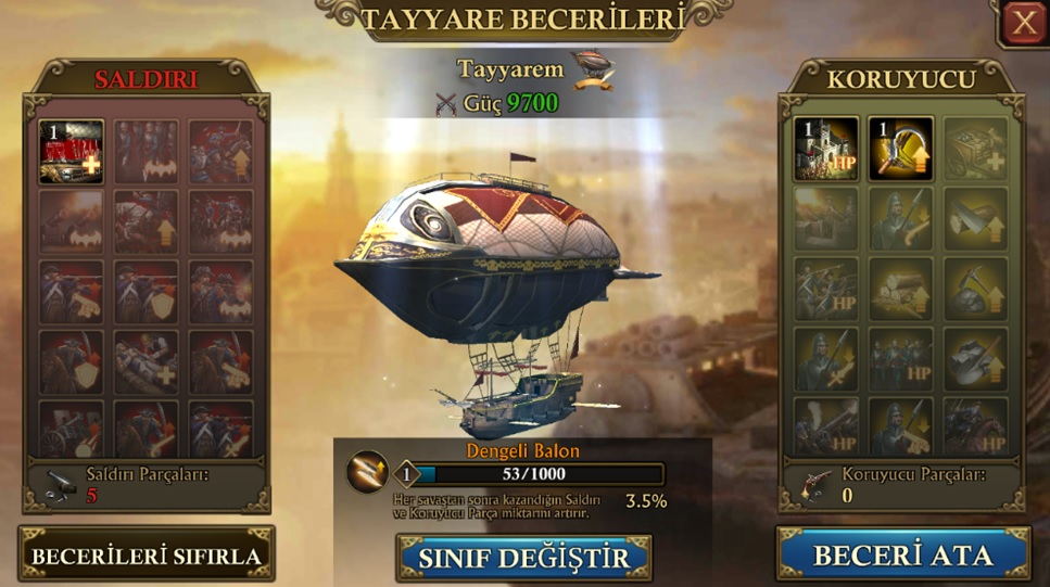 Guns of Glory Tayyare