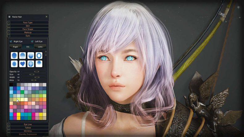 Black Desert Online karakter oluşturma