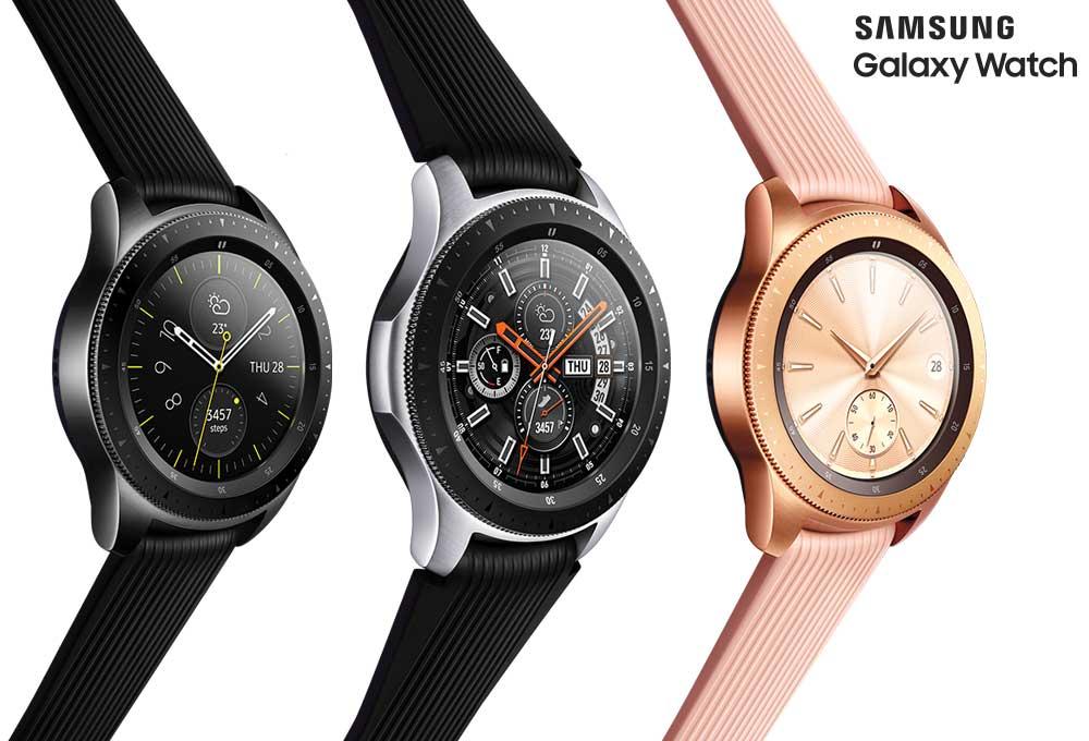 Samsung Galaxy Watch renkler