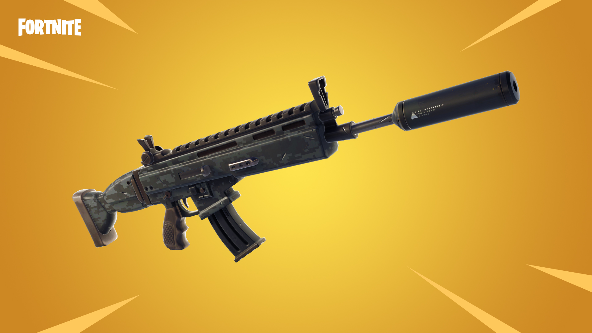 Fortnite Susturuculu Taarruz Tüfeği