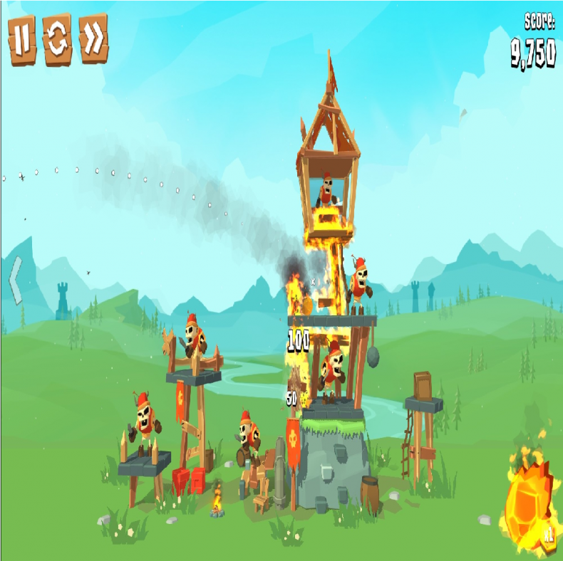 Crush The Castle Siege Master Geliyor