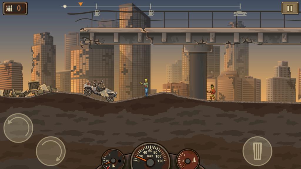 Earnd to die 2 mobil zombi oyunu
