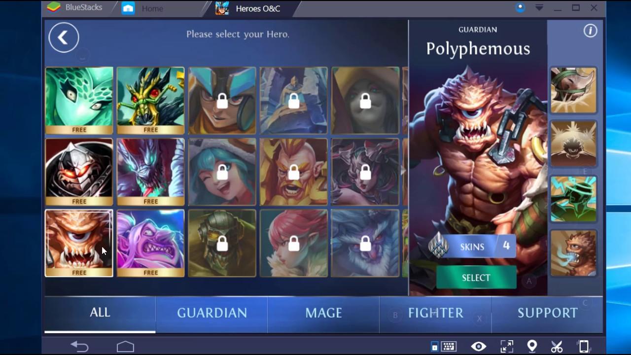 Heroes of Chaos Kahramanlar