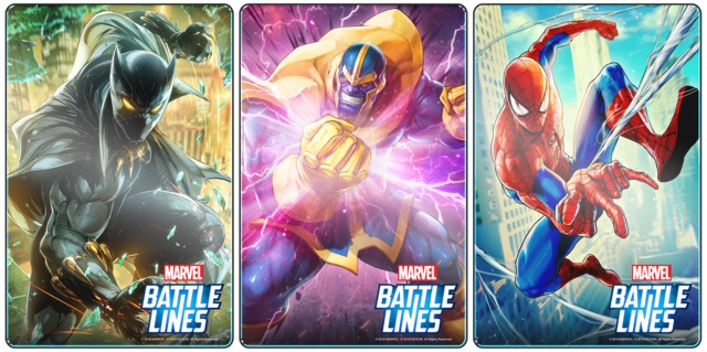 Marvel Battle Lines karakterleri