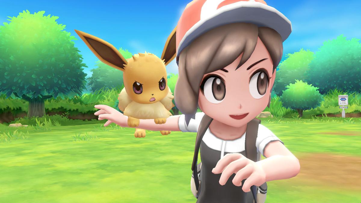 pokemon lets go karakterleri