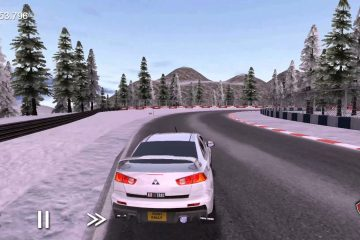 Rush Rally 3 oyunundan bir görsel.