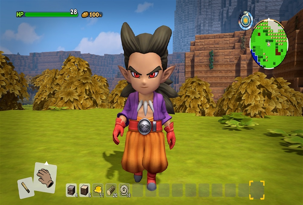 Dragon Guest Builders 2 karakterleri