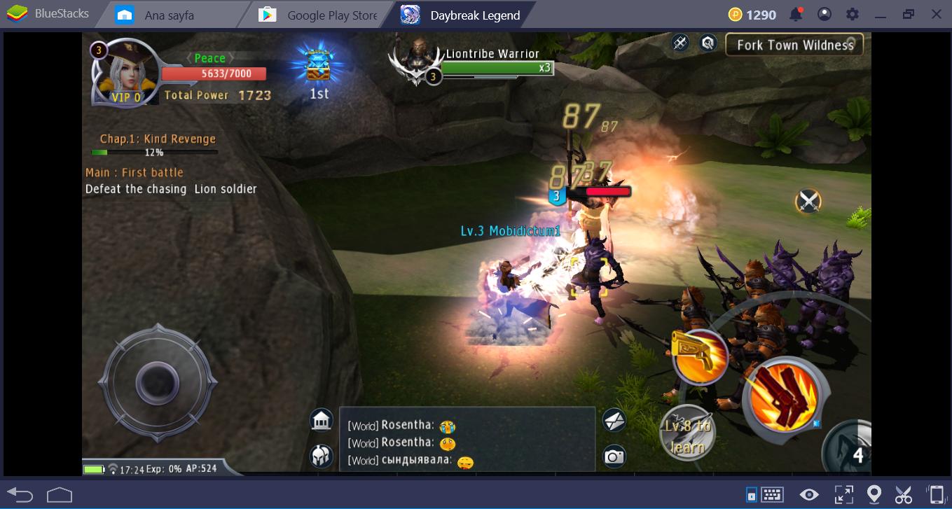 Daybreak Legends Savaş Sistemi
