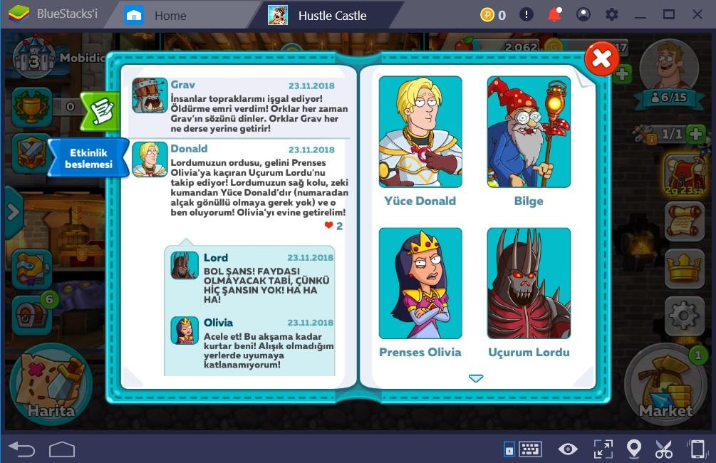 Hustle Castle Oyun İçi Sohbet