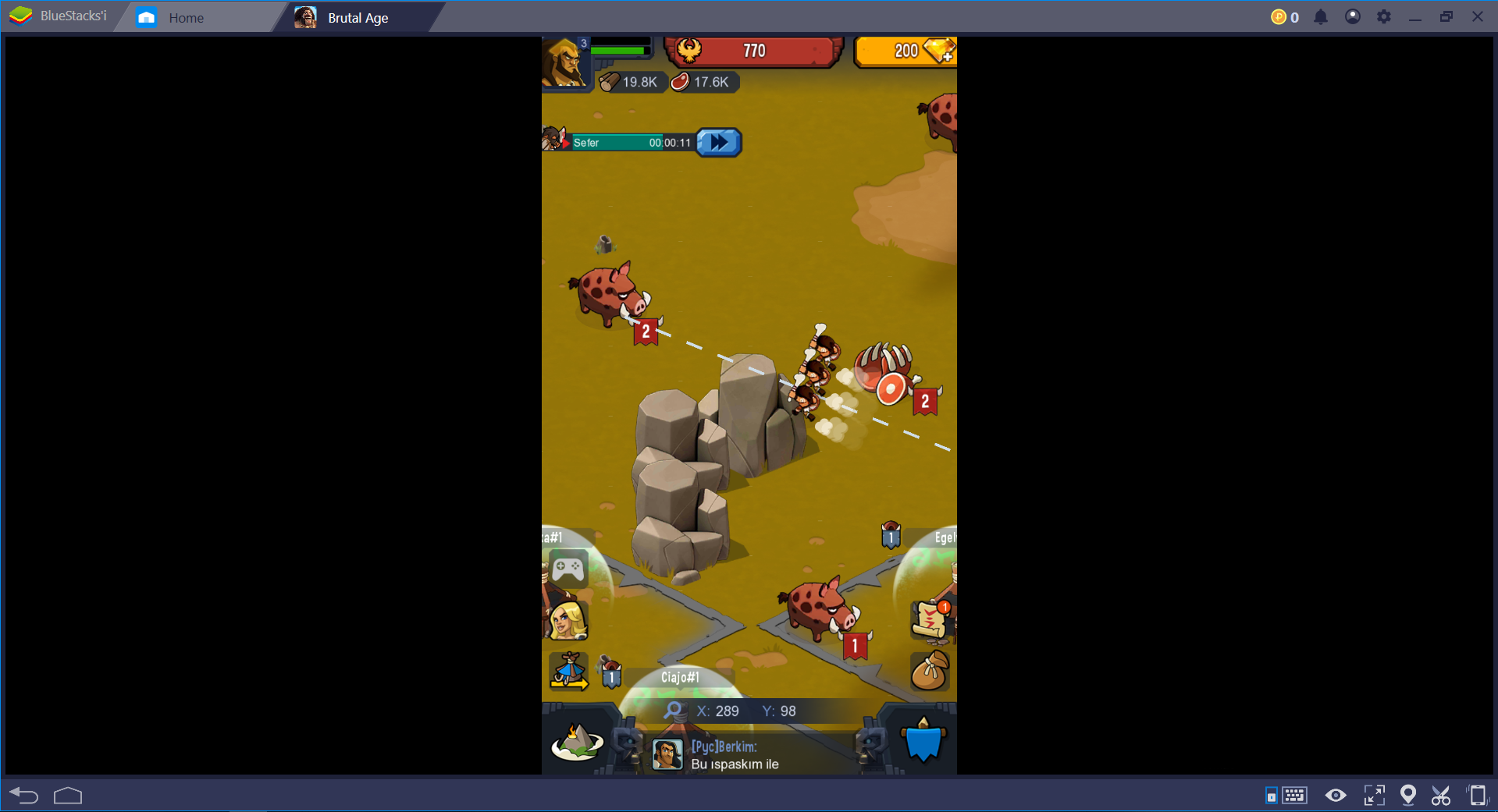 Brutal Age BlueStacks