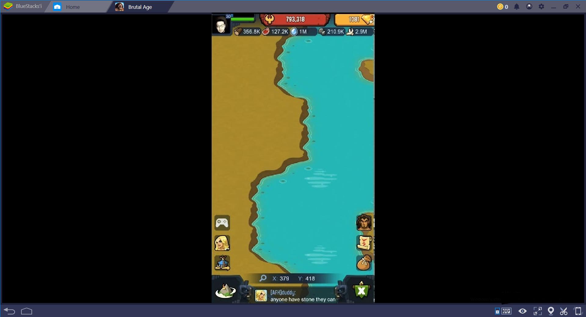 Brutal Age Deniz Haritası