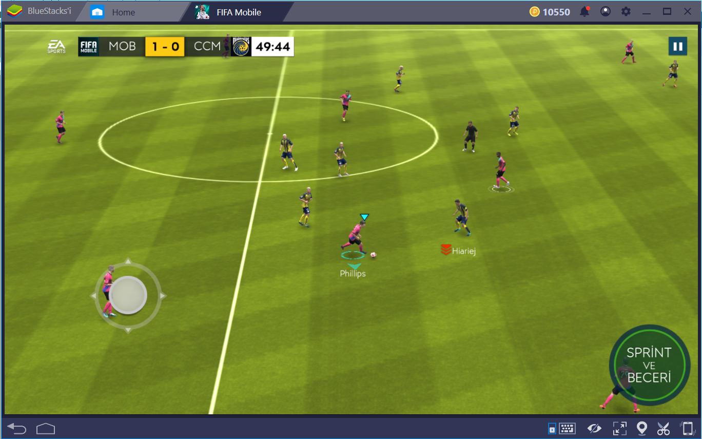 FIFA Mobile Oynanış