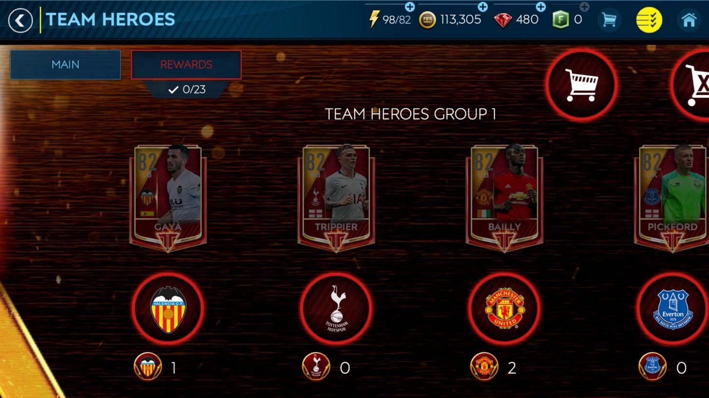 FIFA Mobile - Takım Oyuncusu