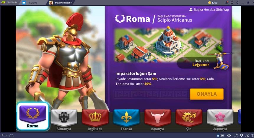 Rise of Civilizations - Roma Ulusu