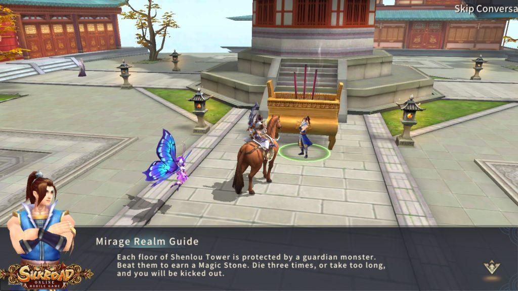 Silkroad Online Mobil Oyun İçinden Görüntü