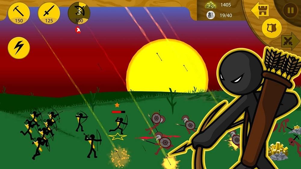 Stick War: Legacy Oyun içi görünümü