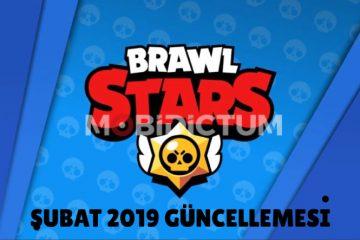 Brawl Stars Şubat 2019 Güncellemesi