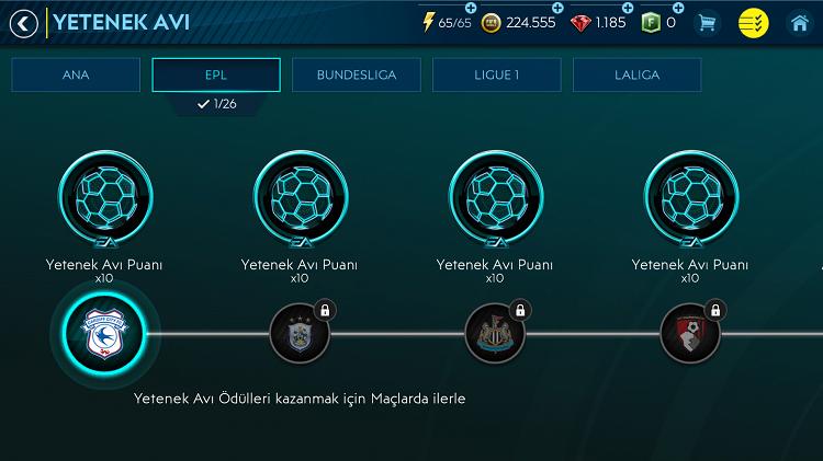Fifa Mobile Etkinlikleri Yetenek Avı