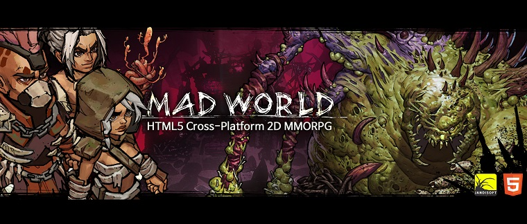 Mad world mobil mmorpg oyunu