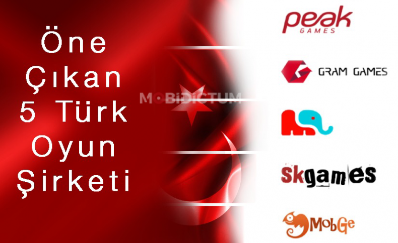 Öne Çıkan 5 Türk Mobil Oyun Şirketi