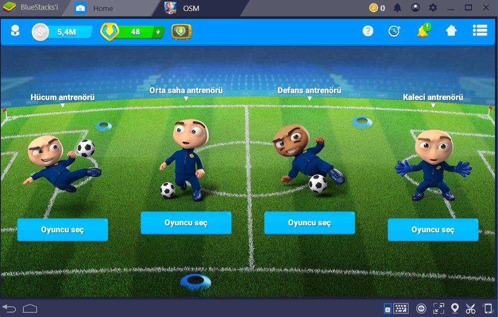 Online Soccer Manager Antrenman