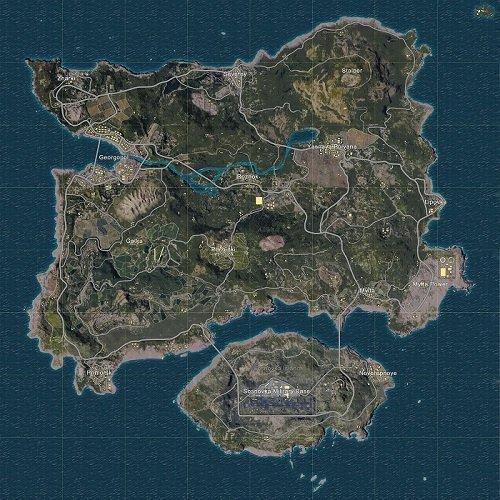 PUBG Mobile haritaları Erangel