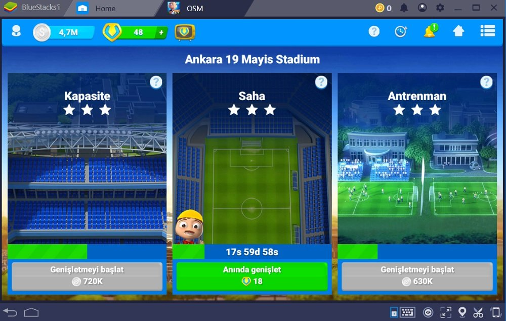 Online Soccer Manager Stadyum