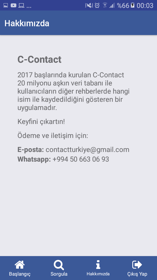 C-Contact