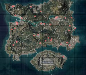 pubg mobile erangel harita değişiklikleri