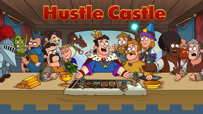 2019'un en iyi mobil rpg oyunları Hustle Castle