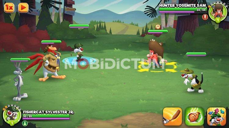 Looney Tunes Word of Mayhem Savaşları