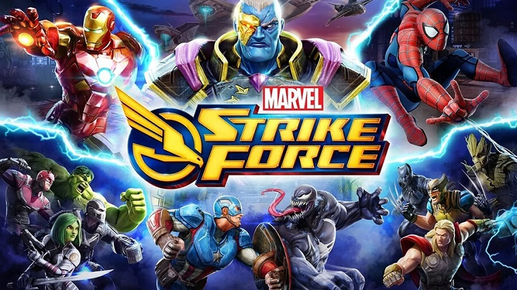 Marvel Mobil Oyunları Marvel Strike Force