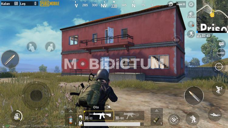 pubg mobile çatıya çıkma çıkılabilir çatı