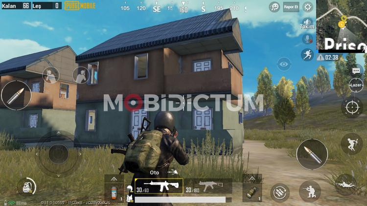 pubg mobile çatıya çıkma çıkılamaz çatı