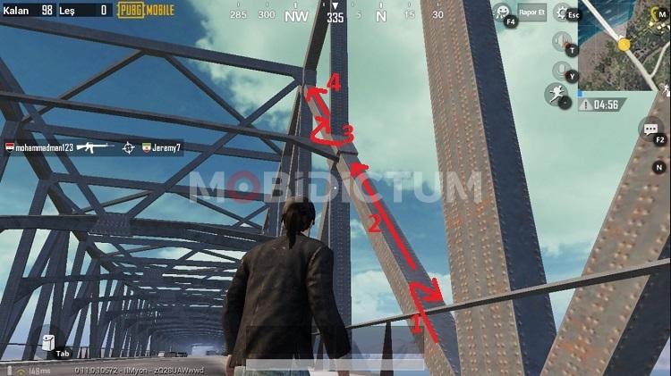 PUBG Mobile Köprüye Nasıl Çıkılır
