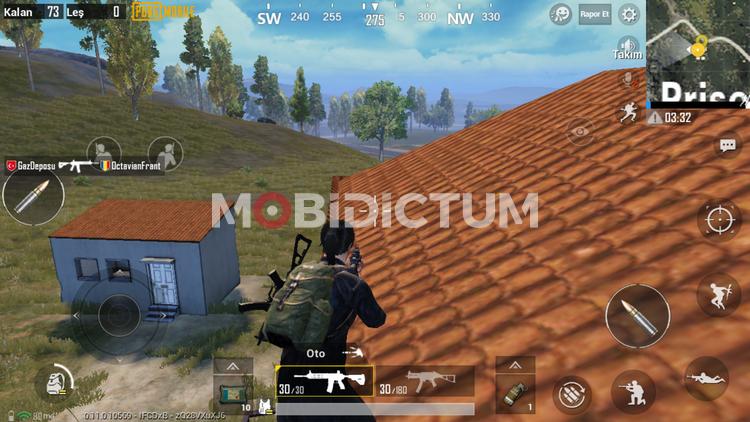 Pubg mobile çatıya çıkma
