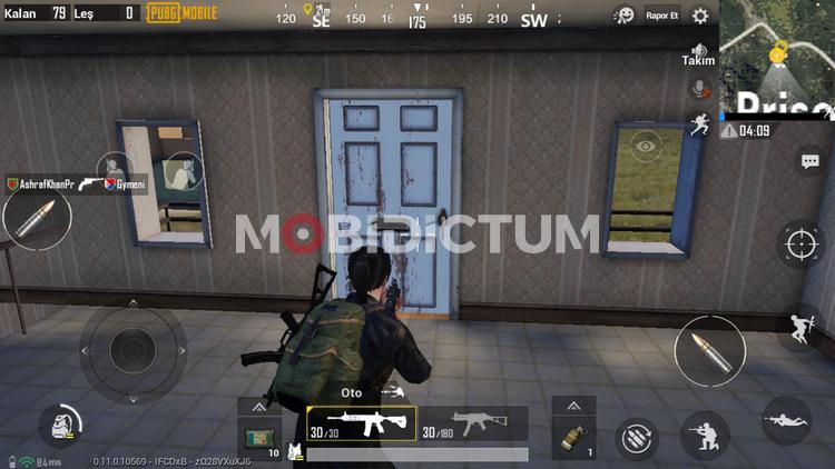 pubg mobile çatıya çıkmak Kapıyı Açma