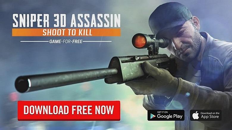 Sniper 3D Assasin: Mobil FPS Oyunu mobil aksiyon