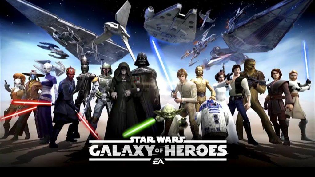 2019'un en iyi mobil rpg oyunları Star Wars: Galaxy Heroes
