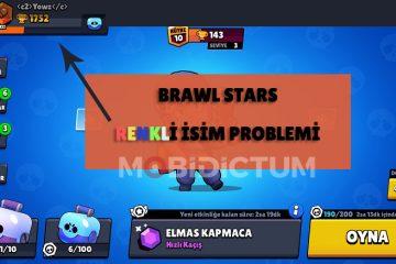 Brawl stars renkli isim problemi