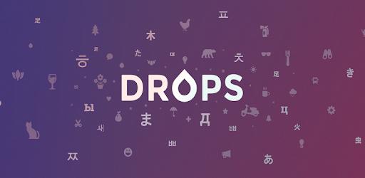 Drops - Yabancı dil öğrenme uygulamaları
